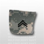 US Army ACU Rank with Hook Closure: E-4 Corporal (CPL)