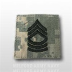 US Army ACU Rank with Hook Closure: E-8 Master Sergeant (MSG)