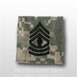 US Army ACU Rank with Hook Closure: E-8 First Sergeant (1SG)