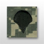 US Army ACU Cap Device, Sew-On:  E-4 Specialist (SPC)