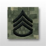 US Army ACU Cap Device, Sew-On:  E-6 Staff Sergeant (SSG)