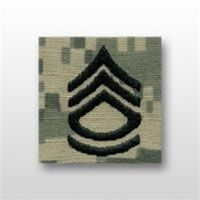 US Army ACU Cap Device, Sew-On:  E-7 Sergeant First Class (SFC)