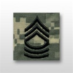 US Army ACU Cap Device, Sew-On:  E-8 Master Sergeant (MSG)