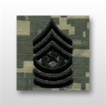 US Army ACU Cap Device, Sew-On: E-9 Command Sergeant Major (CSM)