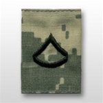 US Army ACU GoreTex Jacket Tab: E-3 Private First Class (PFC)