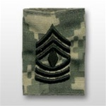 US Army ACU GoreTex Jacket Tab: E-8 First Sergeant (1SG)