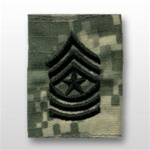 US Army ACU GoreTex Jacket Tab: E-9 Sergeant Major (SGM)