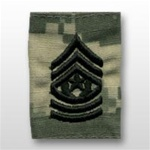US Army ACU GoreTex Jacket Tab: E-9 Command Sergeant Major (CSM)