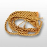 US Army Aiguillette- For Aides and Attaches: Dress Uniform - Synthetic Gold
