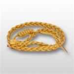 US Army Aiguillette- For Aides and Attaches: Service Uniform - Synthetic Gold