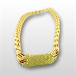 USMC Aiguillettes: Service - 3 Strand (Synthetic Gold/Red)