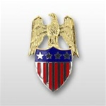 US Army Aides Insignia: Aide To O-10 General (GEN) - Spec. Quality - Metal