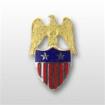 US Army Aides Insignia: Aide To  O-8 Major General (MG) -  Spec. Quality - Metal