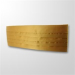 USCG Gold Satin Cummerbund: Male