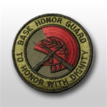 USAF Honor Guard: Base Honor Guard Subduded Patch