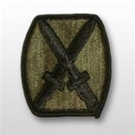 10th Infantry Division - Subdued Patch - Army - OBSOLETE! AVAILABLE WHILE SUPPLIES LASTS!