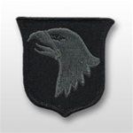 ACU Unit Patch with Hook Closure:  101st AIRBORNE DIVISON