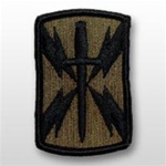 1101st Signal Brigade - Subdued Patch - Army - OBSOLETE! AVAILABLE WHILE SUPPLIES LASTS!