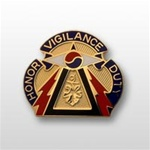 US Army Unit Crest: 304th Military Intelligence Battalion - Motto: HONOR VIGILANCE DUTY