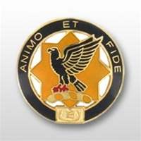 US Army Unit Crest: 1st Cavalry Regiment - Motto: ANIMO ET FIDE