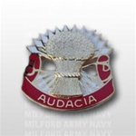 US Army Unit Crest: 4th Air Defense Artillery - Motto: AUDACIA