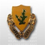 US Army Unit Crest: 12th Cavalry Regiment - Motto: SEMPER PARATUS