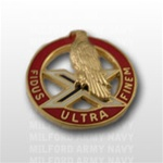 US Army Unit Crest: 2nd Air Defense Artillery - Motto: FIDUS ULTRA FINEM