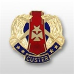 US Army Unit Crest: 85th USAR Support Command - Motto: CUSTER