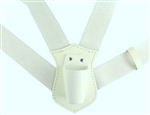 USAF Honor Guard: Flag Carrier - Double Strap - Plastic Socket - White