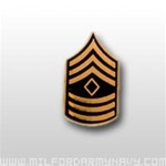 US Army Tie Tac: E-8 First Sergeant (1SG)
