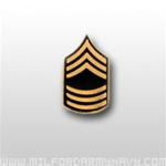US Army Tie Tac: E-8 Master Sergeant (MSG)