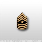 US Army Tie Tac: E-9 Sergeant Major (SGM)