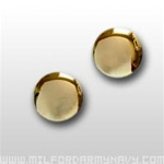 US Army Jewelry: 22k Gold Plated Cuff Links (1 pair)