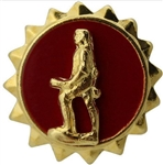 US Army Identification Badges: Active Duty - Lapel Pin - Minuteman