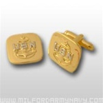US Navy Enlisted Insignia Jewelry: E-7 Chief Petty Officer (CPO) - Cuff Links