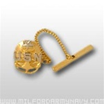 US Navy Enlisted Insignia Jewelry: E-8 Senior Chief Petty Officer (SCPO) - Tie Tac