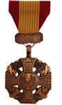 Full-Size Medal: Gallantry Cross - Plain - No Attachment - Foreign Service: Republic of Vietnam