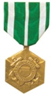 Full-Size Medal: Coast Guard Commendation - USCG