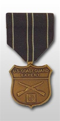 Full-Size Medal: Coast Guard Expert Rifleman - USCG