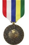 Full-Size Medal: Inter-American Defense Board - All Services - Foreign Service: IADP