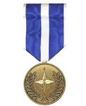 Full-Size Medal: NATO - Kosovo Medal - All Services - Foreign Service