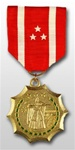 Full-Size Medal: Philippine Defense - No Services - Foreign Service: Republic of the Philippines