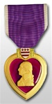 Full-Size Medal: Purple Heart - All Services