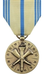 Full-Size Medal: Armed Forces Reserve - Coast Guard - Reverse has the Coast Guard emblem