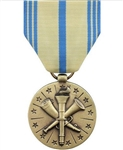 Full-Size Medal: Armed Forces Reserve - Air Force - Reverse has an eagle with wings spread in front of a circle