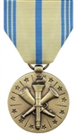 Full-Size Medal: Armed Forces Reserve - Marine Corps - Reverse has the USMC emblem
