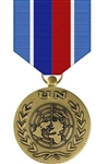 Full-Size Medal: United Nations Mission In Haiti - U N  Service