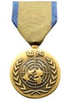Full-Size Medal: United Nations Mission In Western Sahara - U N  Service