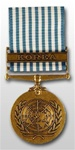 Full-Size Medal: United Nations Service - Korea - All Services - U N  Services