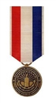 US Military Miniature Medal: 9-11 Medal - Department of Transportation - USCG